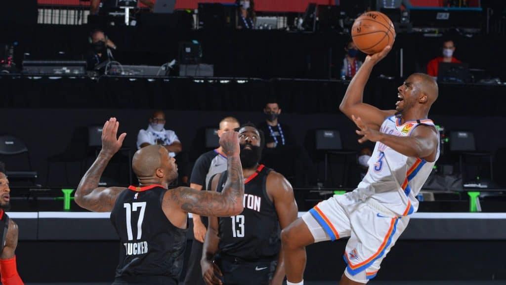 Houston Rockets x Oklahoma City Thunder