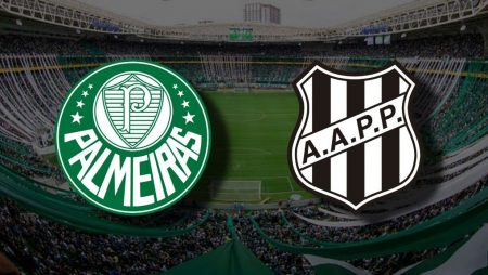 Apostas Palmeiras vs Ponte Preta Paulistão 02/08/2020
