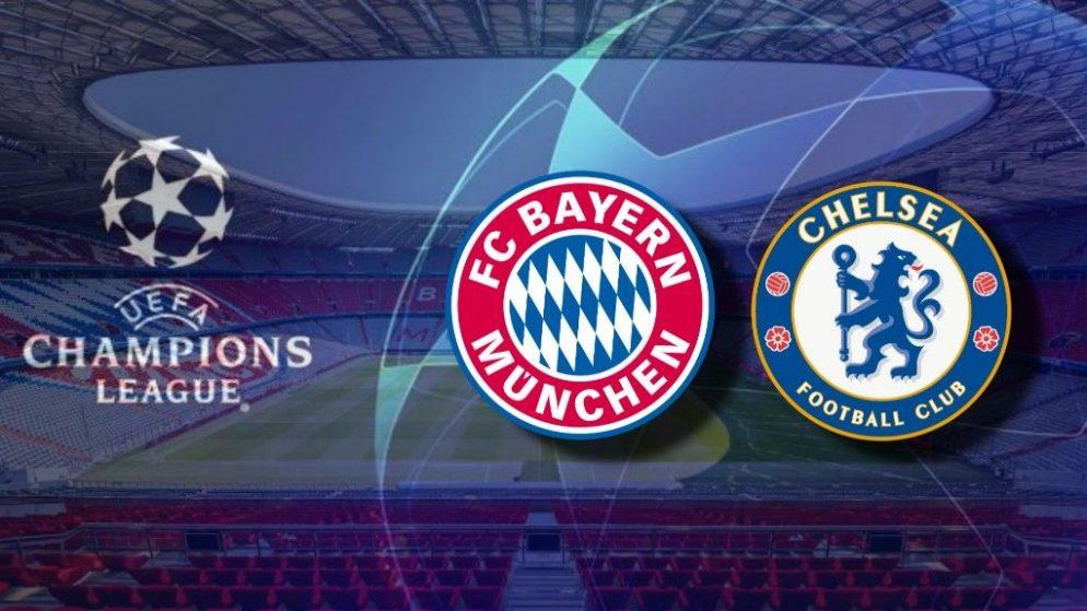 Apostas Bayern de Munique x Chelsea Champions League 08/08/20