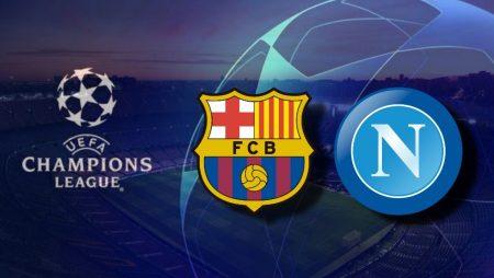 Apostas FC Barcelona x Napoli Champions League 08/08/2020