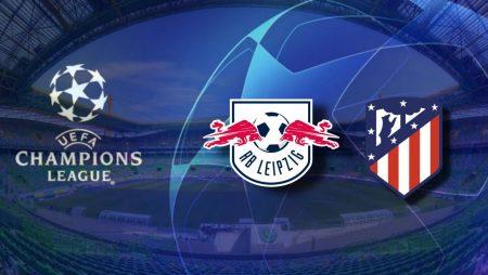 Apostas RB Leipzig x Atlético de Madrid Champions League 13/08/2020