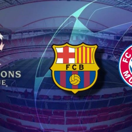 Apostas Barcelona x Bayern de Munique Champions League 14/08/2020