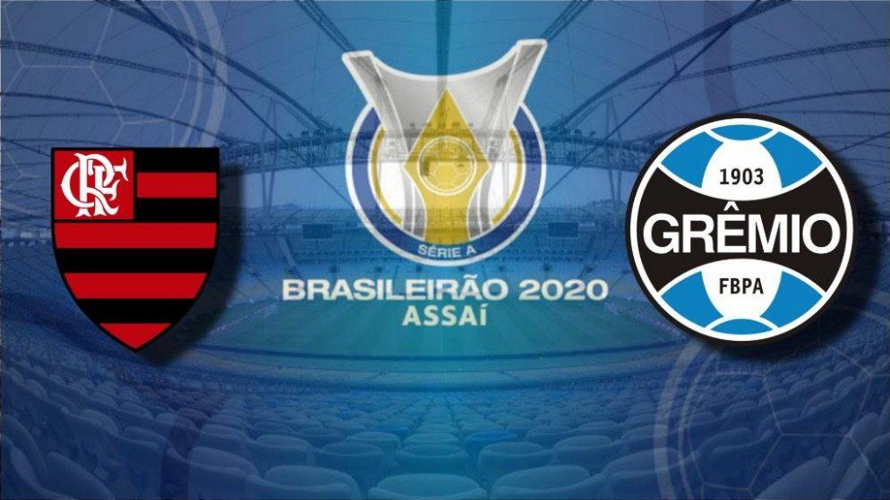 Apostas Flamengo x Grêmio Brasileirão 19/08/2020