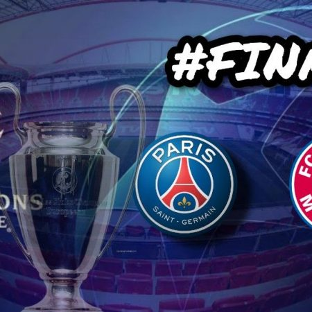 Apostas PSG x Bayern de Munique Final Champions League 23/08/2020