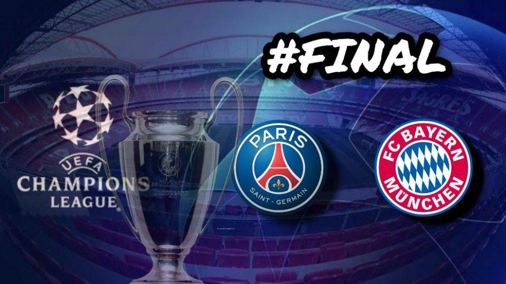 Apostas PSG x Bayern de Munique Final Champions League 23/08/2020