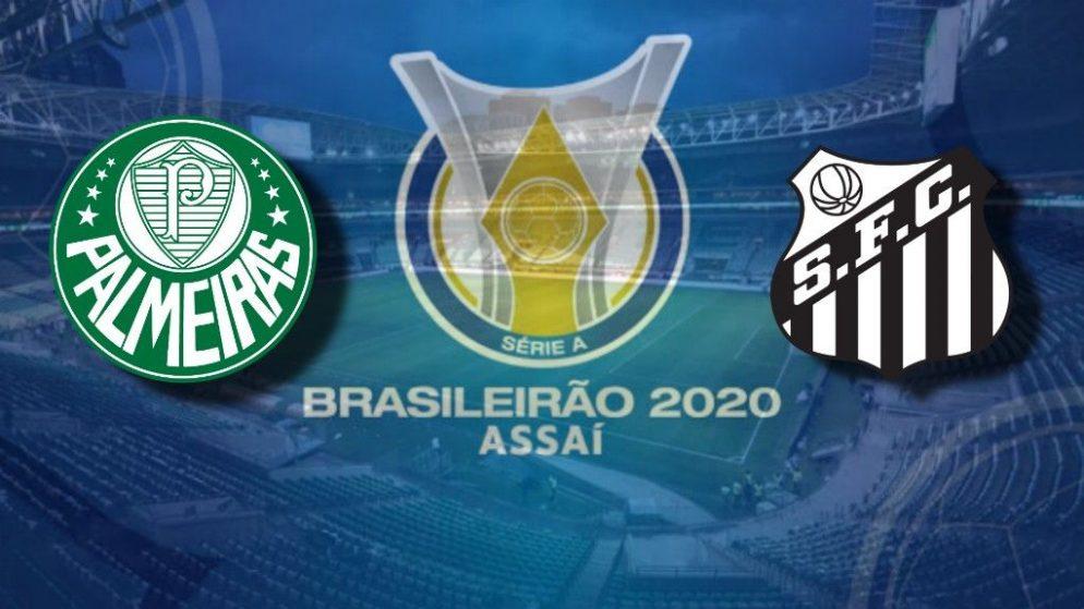 Apostas Palmeiras x Santos Brasileirão 23/08/2020