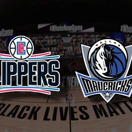 Apostas LA Clippers x Dallas Mavericks Jogo 6 NBA 25/08/2020