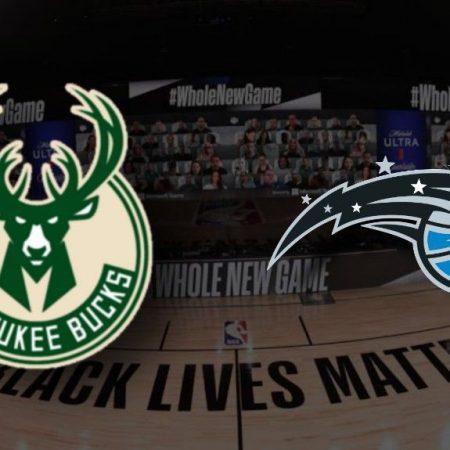 Apostas Milwaukee Bucks x Orlando Magic Jogo 5 26/08/2020