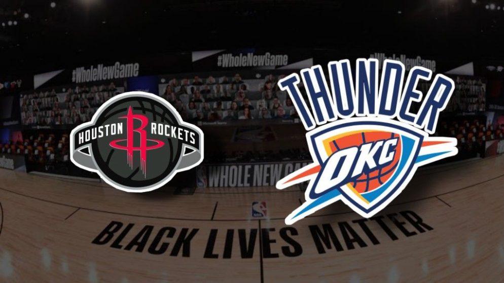 Apostas Houston Rockets x Oklahoma City Thunder Jogo 5 26/08/2020