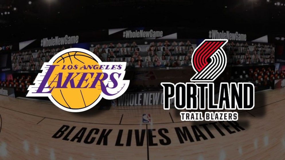 Apostas Los Angeles Lakers x Portland Trail Blazers Jogo 5 NBA 26/08/2020