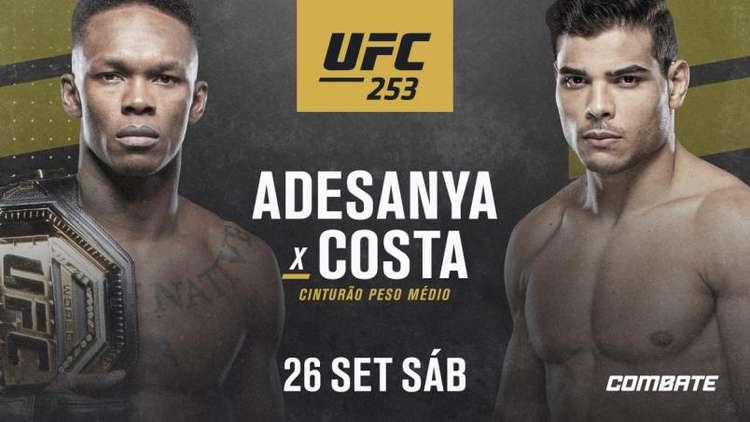 Apostas UFC 253 26/09/2020