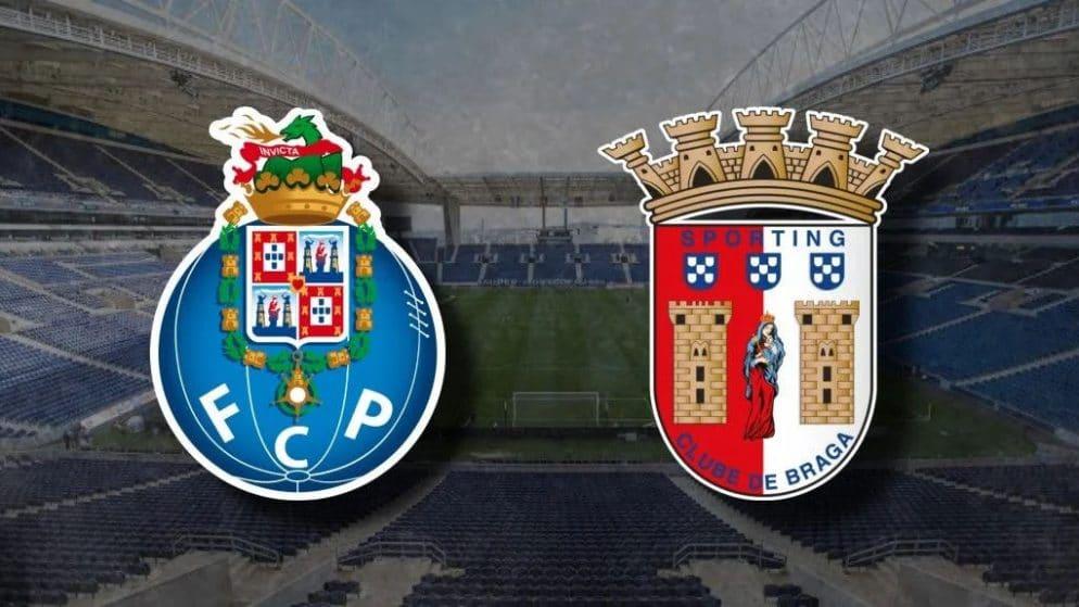 Apostas FC Porto x Braga Campeonato Português 19/09/2020