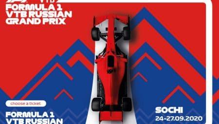 Apostas Grande Prêmio da Rússia F1 27/09/2020