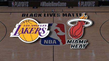 Apostas Los Angeles Lakers x Miami Heat Jogo 6 Finais NBA 11/10/2020