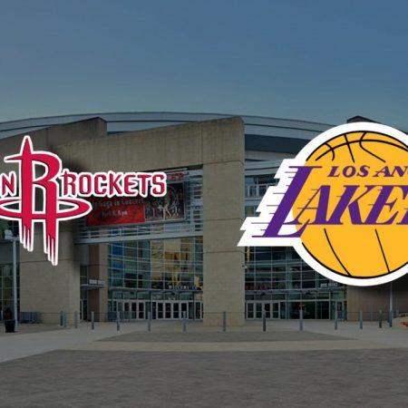 Apostas Houston Rockets x Los Angeles Lakers NBA 13/01/2021