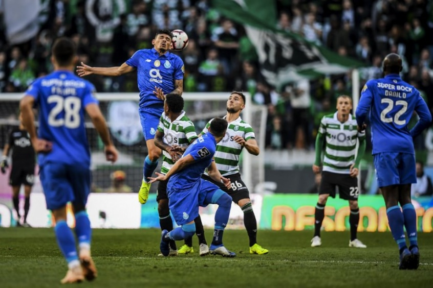 Apostas Sporting x FC Porto
