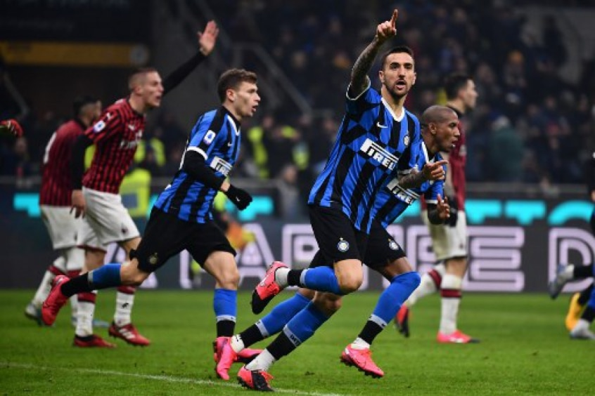 Apostas Inter de Milão x Milan