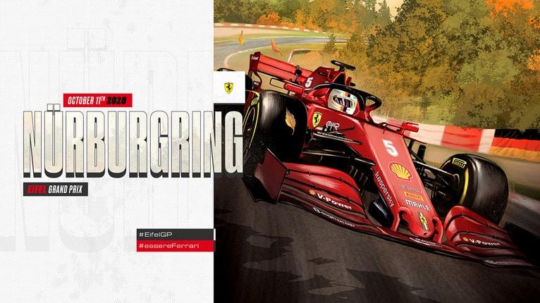 Apostas Grande Prêmio do Eifel F1 11/10/2020
