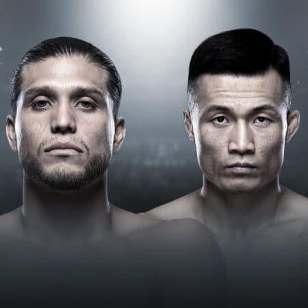 Apostas UFC Fight Night Ortega vs Jung Fight Island 17/10/2020