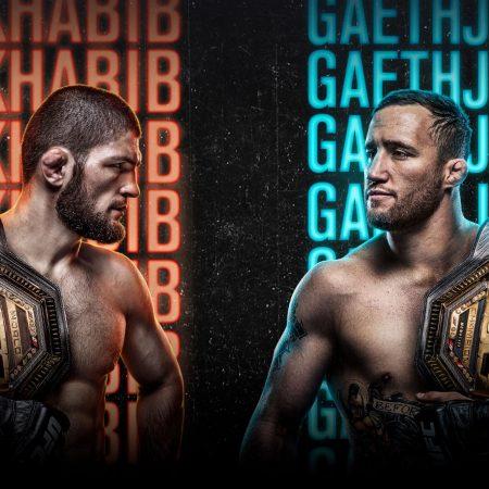 Apostas UFC 254 Khabib x Gaethje 24/10/2020