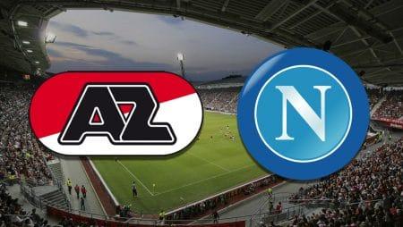 Apostas AZ Alkmaar x Napoli Europa League 03/12/2020