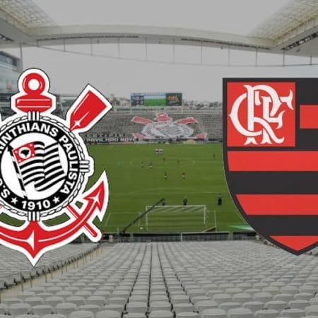 Apostas Corinthians x Flamengo Brasileirão 18/10/2020