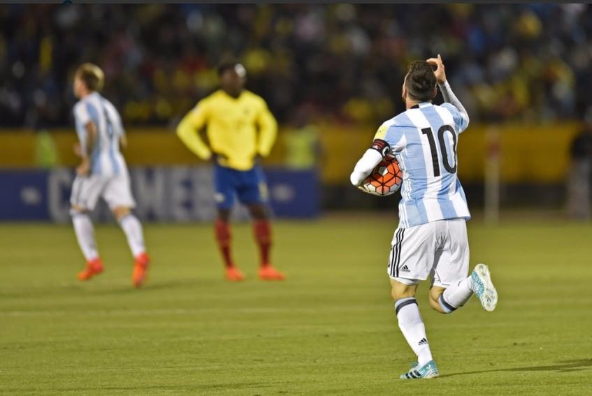 Apostas Argentina x Equador