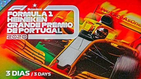 Apostas Grande Prêmio de Portugal Fórmula 1 23/10/2020