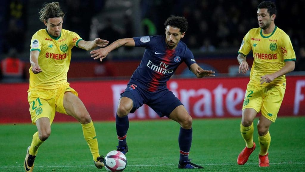 Apostas FC Nantes x PSG