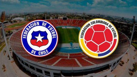 Apostas Chile x Colômbia Eliminatórias Copa do Mundo 2022 13/10/2020