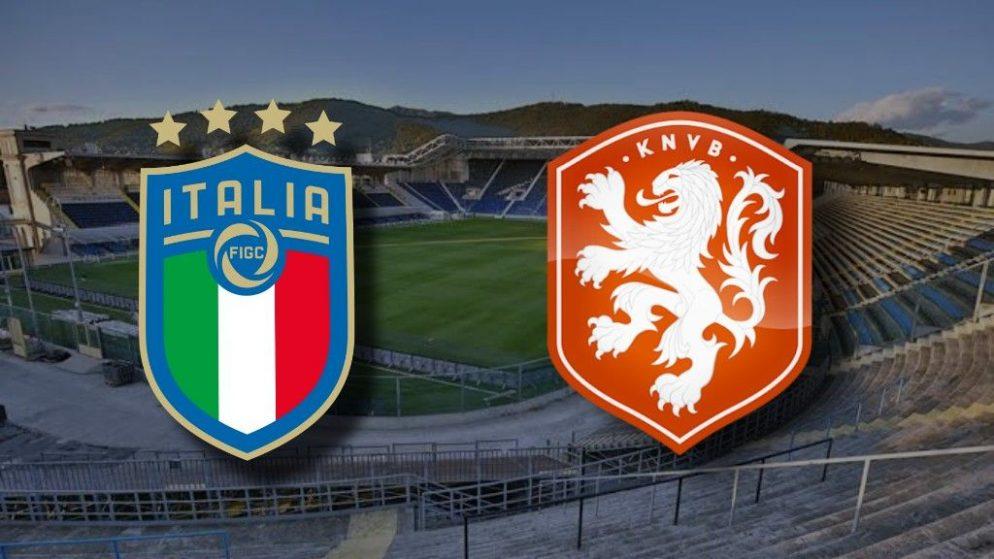 Apostas Itália x Holanda Nations League 14/10/2020