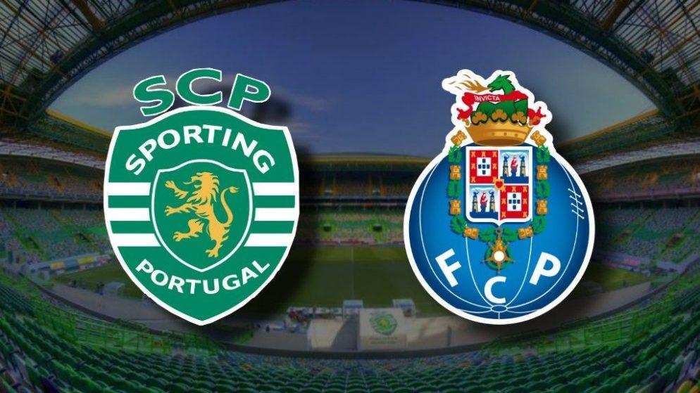 Apostas Sporting CP x FC Porto Campeonato Português 17/10/2020