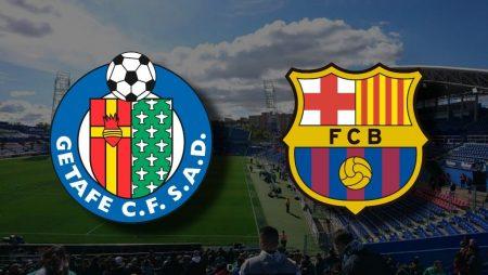 Apostas Getafe x Barcelona La Liga 17/10/2020