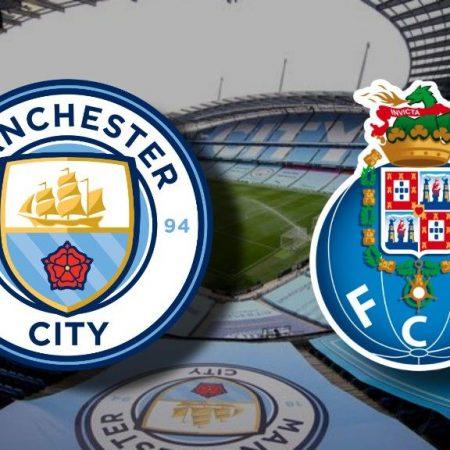 Apostas Manchester City x FC Porto UEFA Champions League 21/10/2020