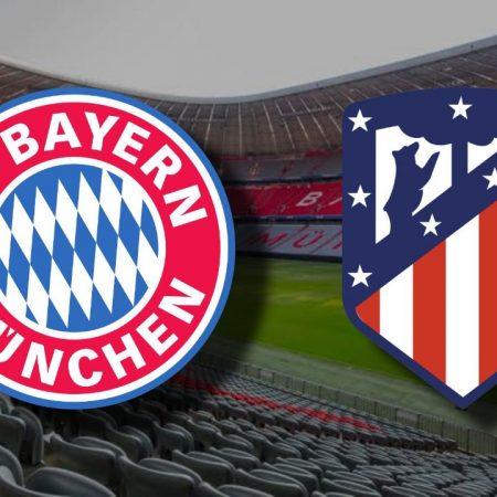 Apostas Bayern de Munique x Atlético de Madrid UEFA Champions League 21/10/2020