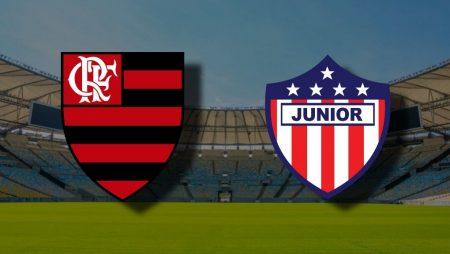 Apostas Flamengo x Junior Barranquilla Libertadores da América 21/10/2020