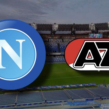 Apostas Napoli x AZ Alkmaar Europa League 22/10/2020