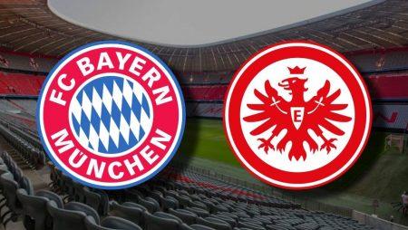 Apostas Bayern de Munique x Eintracht Frankfurt Bundesliga 24/10/2020