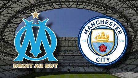 Apostas Olympique de Marseille x Manchester City Liga dos Campeões 27/10/2020