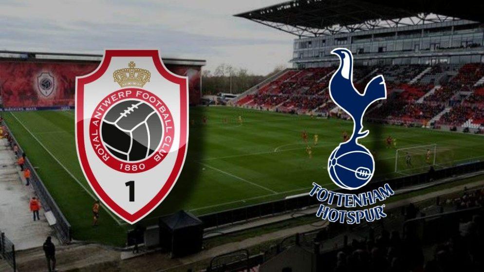 Apostas Antwerp x Tottenham Liga Europa 29/10/2020