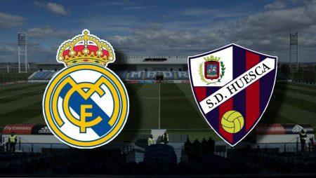 Apostas Real Madrid x Huesca La Liga 31/10/2020