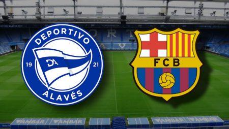 Apostas Alavés x Barcelona La Liga 31/10/2020