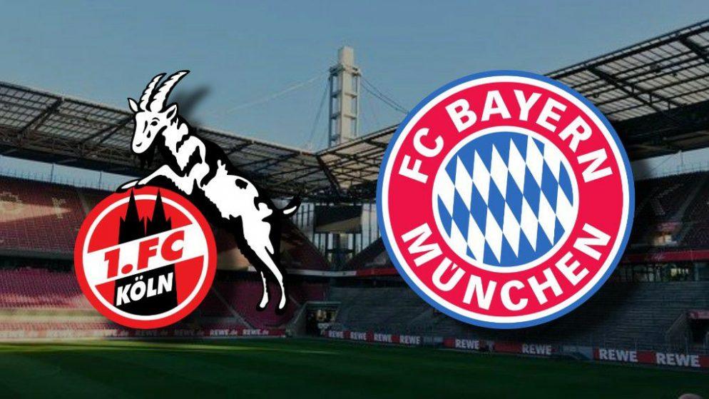 Apostas Colônia x Bayern de Munique Bundesliga 31/10/2020