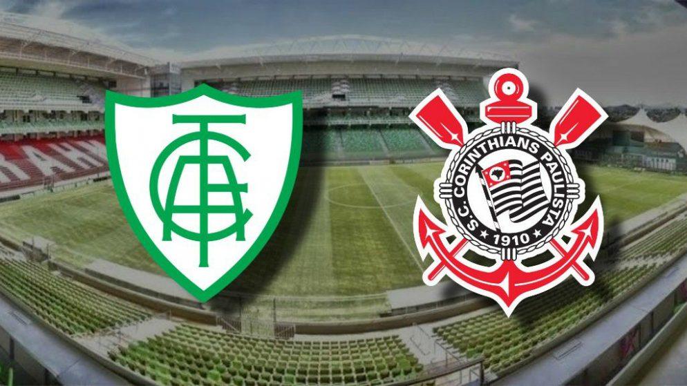 Apostas América-MG x Corinthians Copa do Brasil 04/11/2020