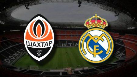 Apostas Shakhtar Donetsk x Real Madrid Liga dos Campeões 01/12/2020