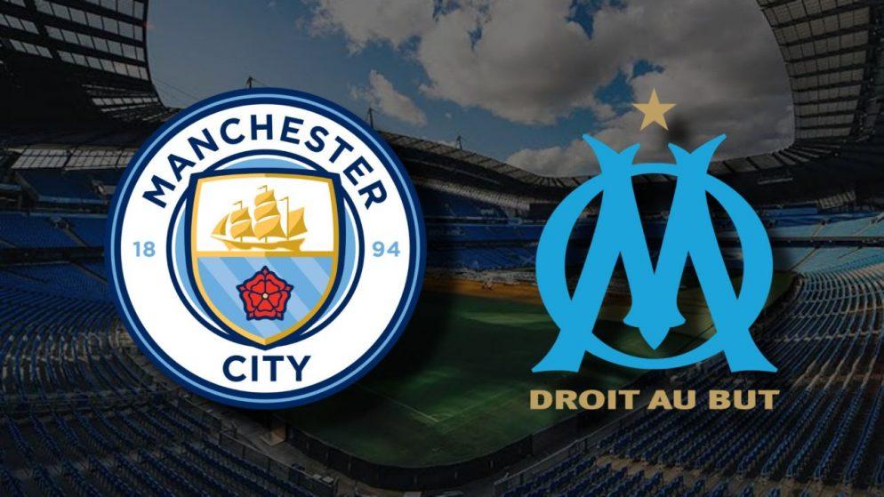 Apostas Manchester City x Olympique de Marseille Liga dos Campeões 09/12/2020
