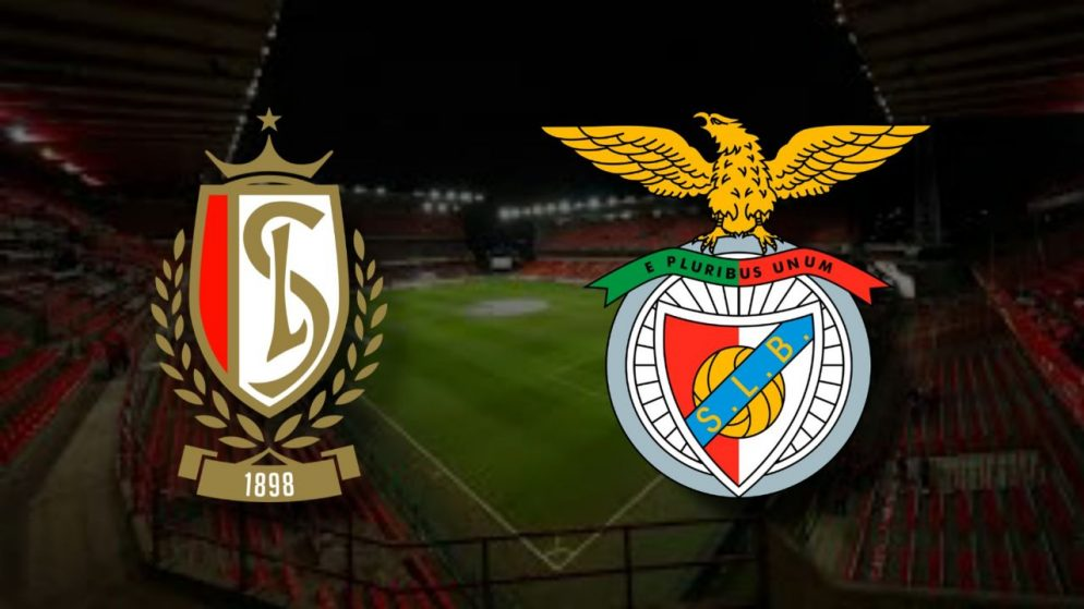 Apostas Standard Liège x Benfica Liga Europa 10/12/2020