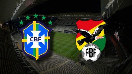 Apostas Brasil x Bolívia Eliminatórias para a Copa de 2022 09/10/2020