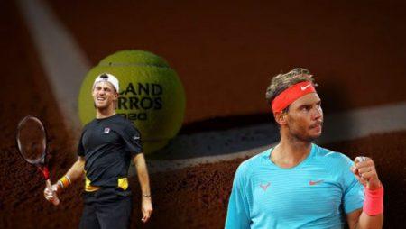 Apostas Diego Schwartzman x Rafael Nadal Roland Garros 09/10/2020