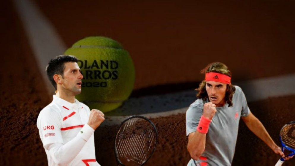 Apostas Novak Djokovic x Stefanos Tsitsipas Roland Garros 09/10/2020